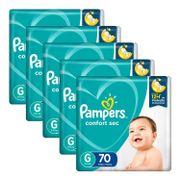 Kit-Fralda-Pampers-Confort-Sec-G-70-Unidades-5-Pacotes-Drogaria-SP-935128080
