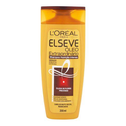 Shampoo Elseve Óleo Extraordinário Nutrição Intensa 200ml