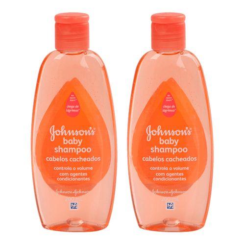Shampoo Johnson´s Baby Cabelos Cacheados 200ml 2 Unidades