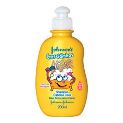 Shampoo Johnson's Crescidinhos Lisos 200ml