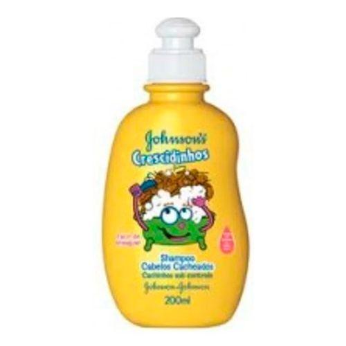 Shampoo Johnson's Crescidinhos Cacheados 200ml