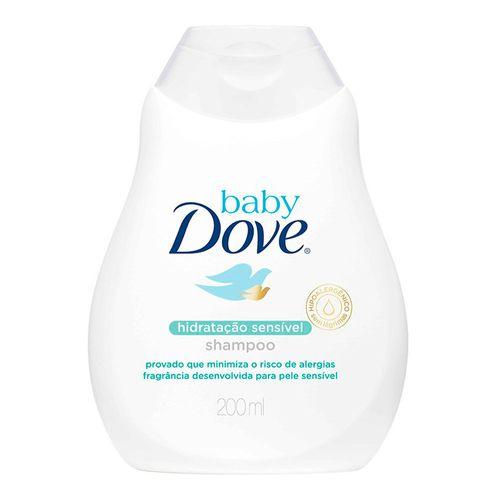 Shampoo Dove Baby Hidratação Sensível 200ml