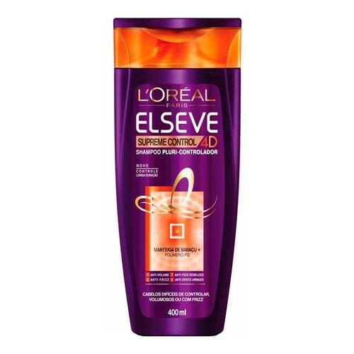 Shampoo Elseve Supreme Control 4D L'Oréal 400ml