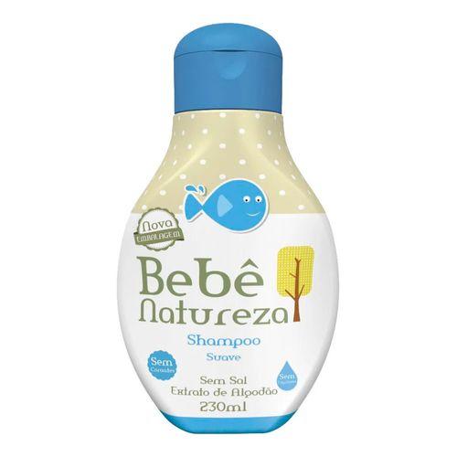 Shampoo Infantil Bebê Natureza Suave 230ml