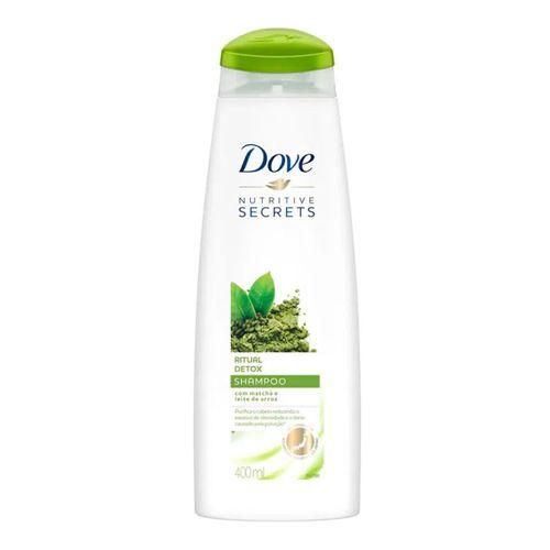 Shampoo Dove Ritual Detox 400ml