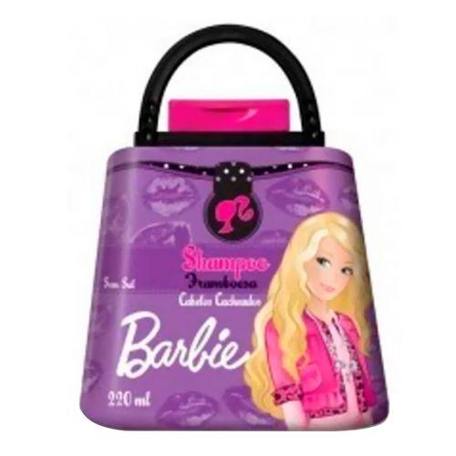 Shampoo Barbie Bolsa Framboesa 220ml