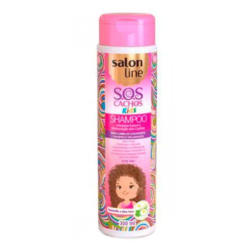 Shampoo Kids Salon Line Sos Kids 300ml