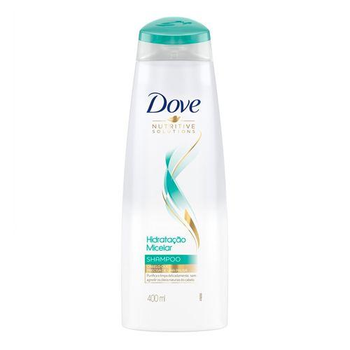 Shampoo Dove Solução Micelar Nutritive Solutions 400ml