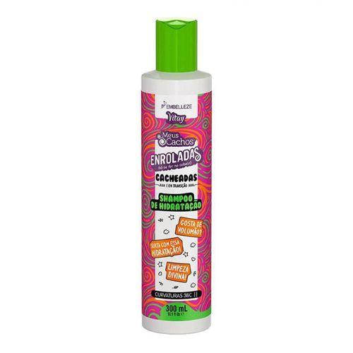 Shampoo De Hidratação Vitay Enroladas Cacheadas 300ml