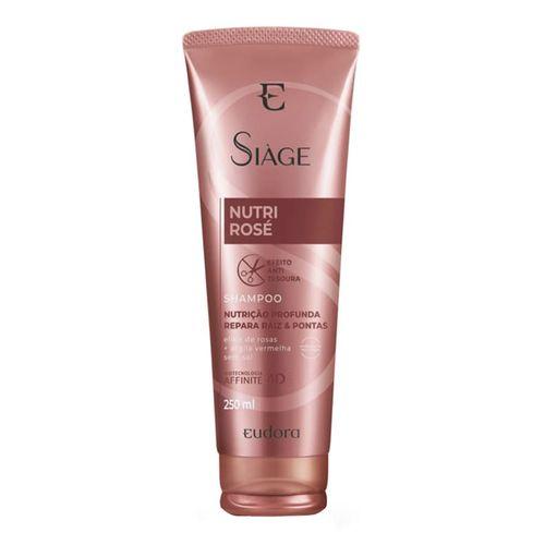 Shampoo Eudora Siàge Nutri Rosé 250ml