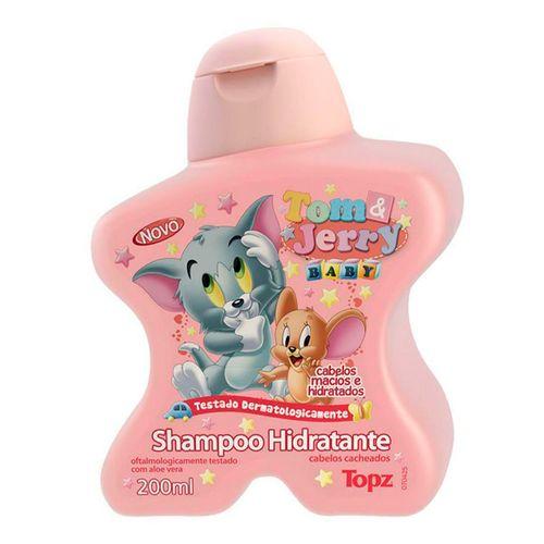 Shampoo Hidratante Topz Tom & Jerry 200ml
