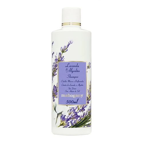 Shampoo Lavanda & Algodão Mahogany 500ml