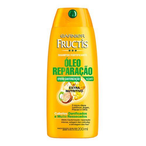 Shampoo Fructis Óleo Reparação Extra Nutritivo 200ml