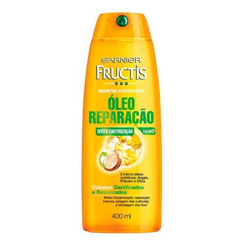 Shampoo Fructis Óleo Reparação 3 Óleos 400ml