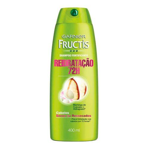 Shampoo Fructis Reidratação 72 horas 400ml