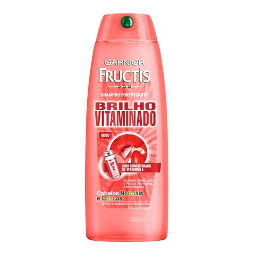 Shampoo Fructis Brilho Vitaminado 400ml