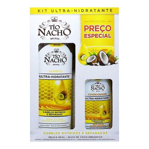 Kit Tio Nacho Ultra-Hidratante Shampoo 415ml + Condicionador 200ml