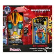 Kit Transformers Prime Shampoo 3 em 1 300ml + Gel Dental 70g