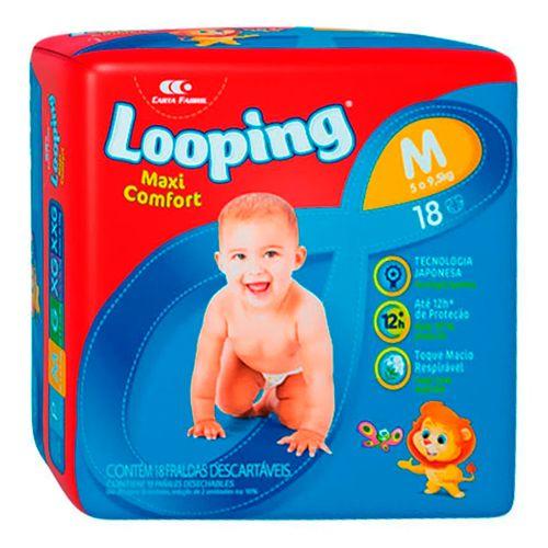 510947---fralda-descartavel-looping-maxi-confort-pratica-m-18-unidades