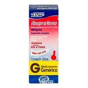 Ibuprofeno 50mg/G Genérico Teuto 30ml Gotas