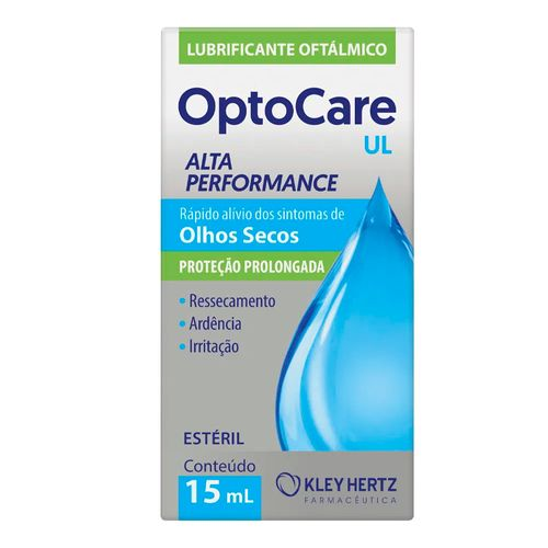 Lubrificante Oftálmico Optocare UL 15ml