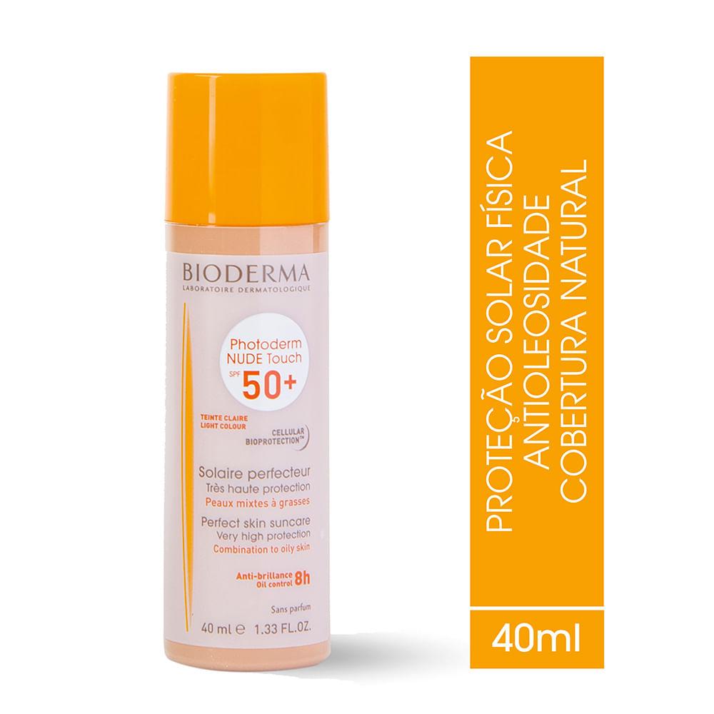 Comprar Protetor Solar Photoderm Bioderma Nude Touch Fps50