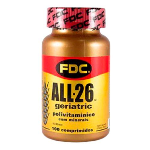 Polivitamínico All 26 Geriatric FDC 100 Comprimidos