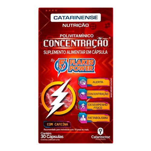 Polivitamínico Flakes Power 30 Comprimidos