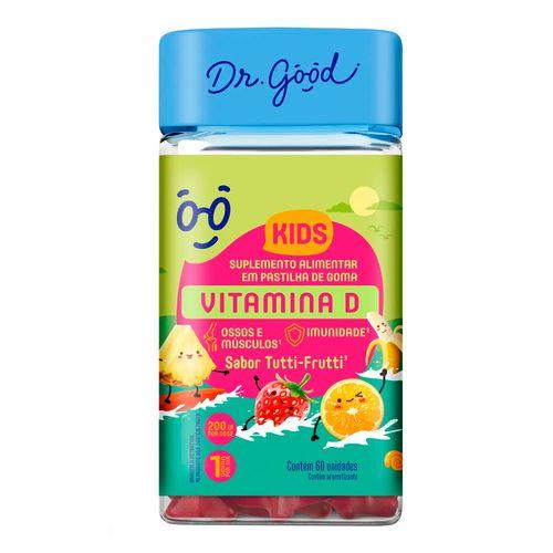 Suplemento Alimentar Dr Good Vitamina D Kids 60 Gomas