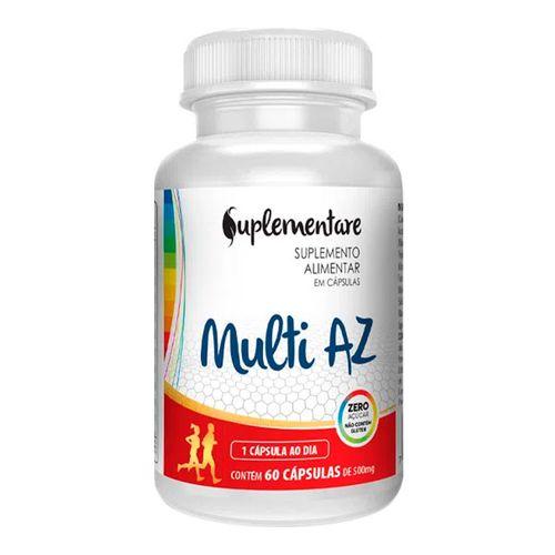 Suplemento Alimentar Suplementare Multi AZ 60 Cápsulas