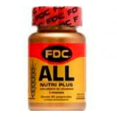 Suplemento Vitamínico All Nutri Plus FDC 40 Comprimidos