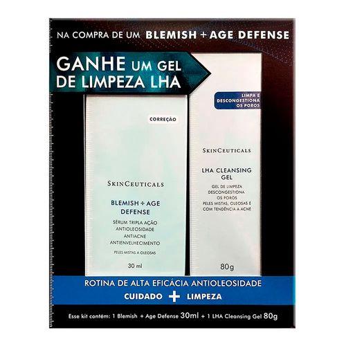 Kit-Skinceuticals-Serum-Anti-idade-Blemish---Age-Defense-30ml---Gel-de-Limpeza-Lha-Cleasing-80g