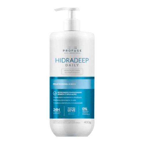 Creme-Hidratante-Corpo-e-Rosto-Profuse-Hidradeep-Daily-400g