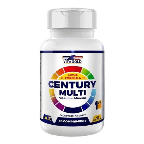 Suplemento-Vitaminico-Century-Multivitaminas-Vitgold-DLW-30-Comprimidos